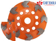 105mm  4 /  4.5 Inch    Concrete Grinding Wheel For Grinder  Granite Orange Arrow Shape