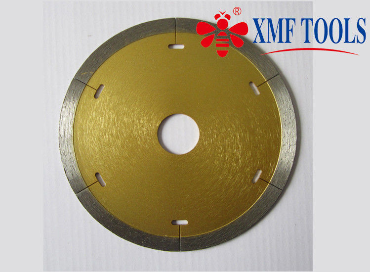 8 Inch Continuous Rim Saw Blade For Porcelain Tile  , 200mm   350mm Diamond Cutting Blades