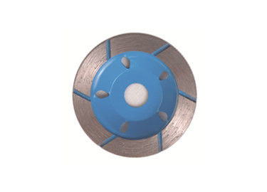 Durable Grinding Stone Wheel / Angle Grinder Sintered Segment Cup Wheel For Granite