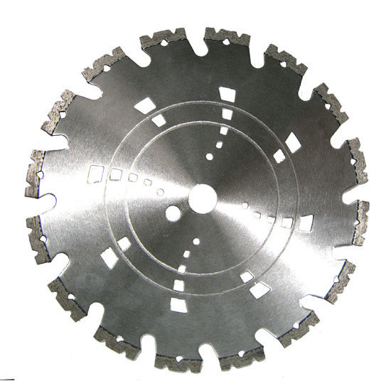 Concrete Block Paving Brick Diamond Saw Blade For Cutting Granite , Fast Speed